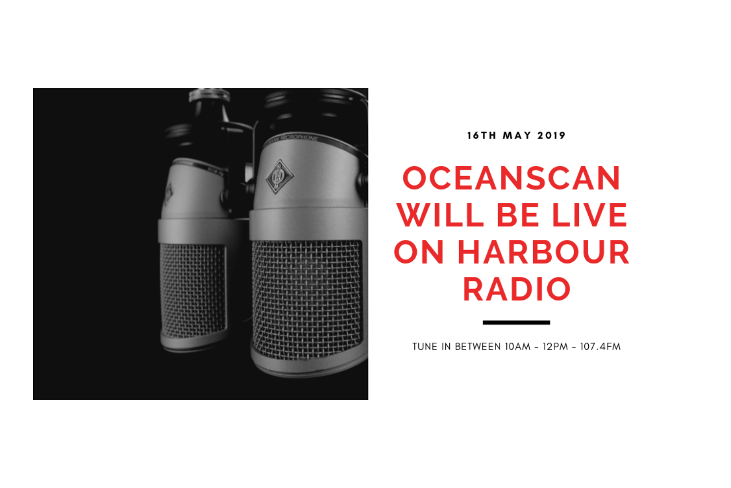 Oceanscan Personnel 10th anniversary radio campaign